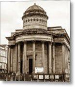 Great George Street Congregational Church Liverpool Metal Print
