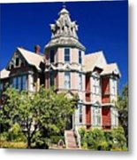 Great Old House Metal Print