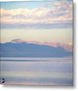 Great Salt Lake Pastel Morning Metal Print