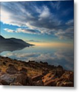 Great Salt Lake Utah Metal Print