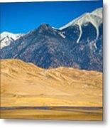 Great Sand Dunes In Colorado Metal Print