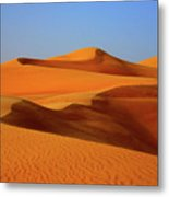 Great Sand Sea Metal Print by Chaza Abou El Khair