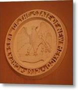 Great Seal Of The State Of New Mexico 1912 Metal Print