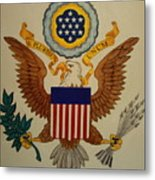 Great Seal Of The United States Of America Metal Print