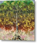Great Sycamore Metal Print