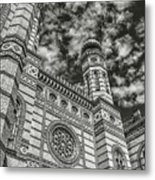 Great Synagogue Metal Print
