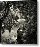 Great Train Race Metal Print