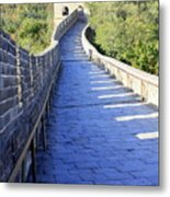 Great Wall Pathway Metal Print