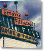 Greater Pittsburgh Five Drive-in Metal Print