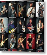 Greatest Guitarists Of All Time Metal Print