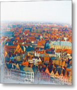 Greatest Small Cities In The World Metal Print
