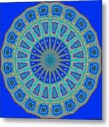 Grecian Tiles No. 2 Metal Print