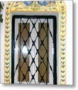 Greece Decorative Window Metal Print