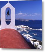 Greece. Mykonos Metal Print