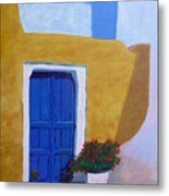 Greece Painting  Metal Print