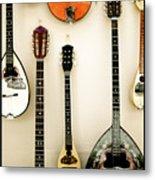 Greek Instruments Metal Print