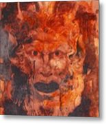 Greek Mask 8 Metal Print