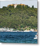 Greek Orthodox School And The Sea Of Marmara Metal Print