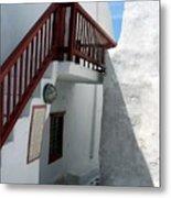 Greek Staircase Metal Print