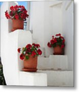 Greek Steps  Metal Print