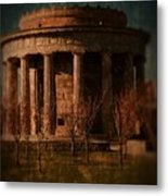 Greek Temple Monument War Memorial Metal Print