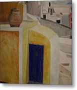 Greekscape 2 Metal Print