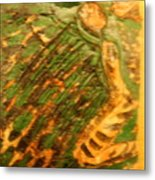 Green - Tile Metal Print