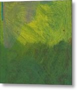Green Abstract 1 Metal Print