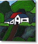 Green Acres Metal Print