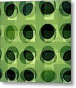 Green Astigmatism Metal Print by Teodoro De La Santa