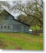 Green Barn #2 Metal Print