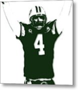Green Bay Packers Bret Favre 3 Metal Print