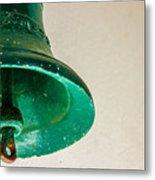 Green Bell Metal Print