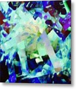 Green Blue Mix Metal Print