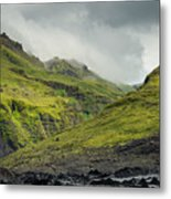 Green Canyon Metal Print