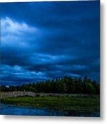 Green Cay Storm 5 Metal Print