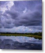 Green Cay Storm 8 Metal Print
