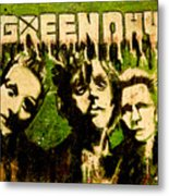 Green Day Metal Print