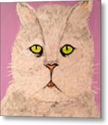 Green Eye Metal Print