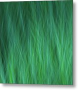 Green Fire 1 Metal Print