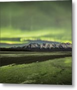 Green Ice Metal Print