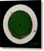 Green Image Metal Print