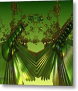 Green Insects  Metal Print