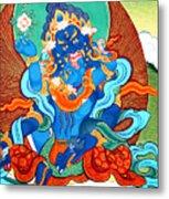 Green Jambhala 3 Metal Print