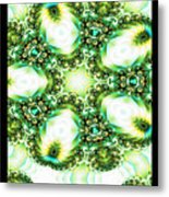 Green Jello Metal Print