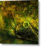 Green Lantern Metal Print by Monroe Snook