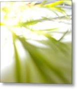 Green Light Metal Print