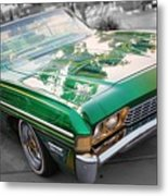 Green Low Rider Metal Print