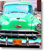 Green Machine Metal Print