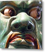 Green Meanie Metal Print